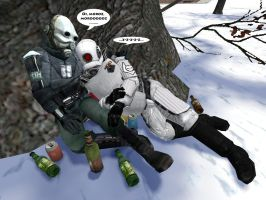 Gmod: Drinking Buddies by n-dorfine