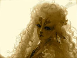 Golden Faun by LadyRavenswood