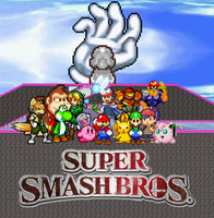 Super Smash Brothers N64 by gold-ring-951