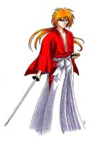 Rurouni Kenshin by WildSpiritWolf