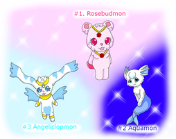Digimon Adoptables 01 (Closed) by HeroHeart001