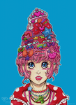 EPIC HAIR SERIES 4/5 : DECORA by tea-bug