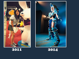 Cosplay evolution by DrossLoveYaoi