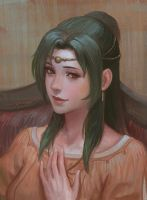 Princess Elincia by yagaminoue