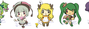 ::Adopts:: Mini Pokemon Gijinka CLOSED by K0USEKI