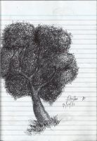 Tree ink pen by TheR-tist