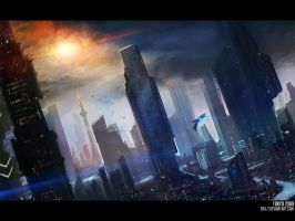Tokyo, Japan, Earth - 2369 by Dreamer-Out-There