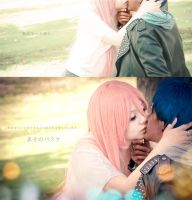 Momoi and Aomine - One More Day by Hikari-Kanda