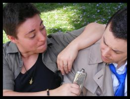 Cosplay: Dean and Castiel 15 by SharysAogail