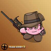 Team Fortress 2 - Kirby Sniper by JackJasra