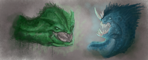 Dragons by WhiteRose2132
