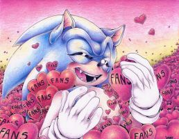 + WE ARE WITH YOU, SONIC! + by ClassicMariposAzul