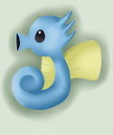 PKMNation: Droplet the Horsea App by OtaPotato