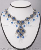 Frost Queen Necklace by LadyLockeout