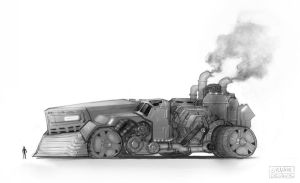 Steampunk Tank by UrbanMelon