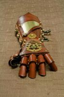 Steampunk Gauntlet by CraftedSteampunk