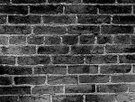 Brick wall in B and W by ChloeS69