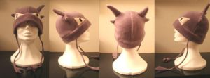 Haunter Fleece Hat by KiraTakuto