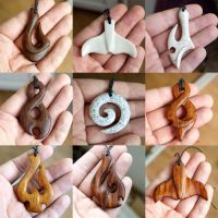Maori jewelry from wood and corian by BDSart