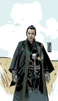 TOSHIRO MIFUNE colors by GigiCave