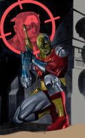 Deathlok on the prowl by statman71