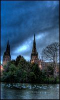 Lichfield Cathedral 1 by Kem2000