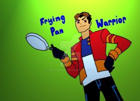 Frying Pan Warrior by RexFangirl