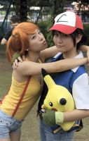 Ash and Misty by Schizima
