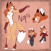 Noyii ref (commission) by CremexButter