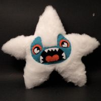 ME PLUSH YOU- Yeti Starfish by loveandasandwich