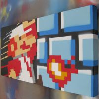 Super Mario Go .. right view by arcade-art