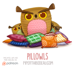 Daily Paint 1565. Pillowls by Cryptid-Creations