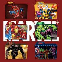 Marvel Shows Folder Icon Pack by Kliesen