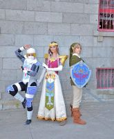 Legend of Zelda Twilight P. cosplay and Sheik by ryoky28