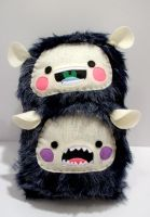 Foma Brothers Totem Plushie by coldtaxi-productions