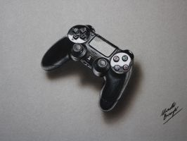 PS gamepad DRAWING by Marcello Barenghi by marcellobarenghi