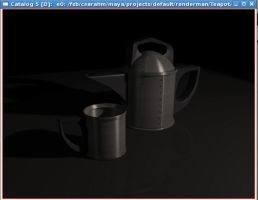 Teapot for class by LightlyBow