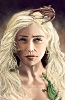 Mother of Dragons by L0C0CH0C0B0