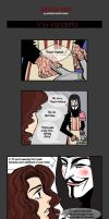 V for VENDETTA by supercluster-hong