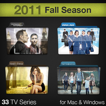 2011 Fall Season TV Series by paulodelvalle