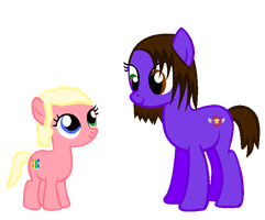 Pony Me and my cousin by DreamsandPassion