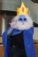 Castle Point Anime Convention 2013 - Ice King by kamau123