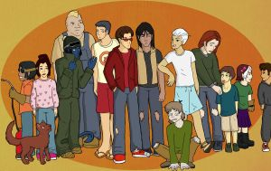 The X-Street Kids by wingsgirl