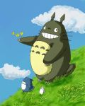 Totoro by The-Mirrorball-Man