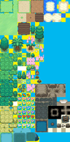 WIP Tileset fore Hoenn by GroudonMcL
