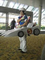 Otakon 2013 - Speed Racer by mugiwaraJM