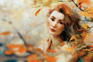 Autumn afternoon by xnhan00
