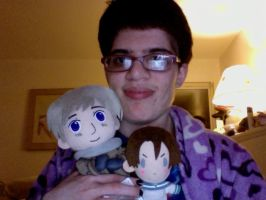 Me and my new Russia doll by giantstorylover