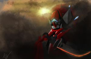 robot speed paint by ShinoShoe26