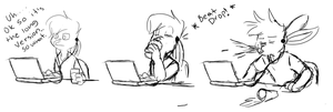 Tumblr Post Reaction by Marukio